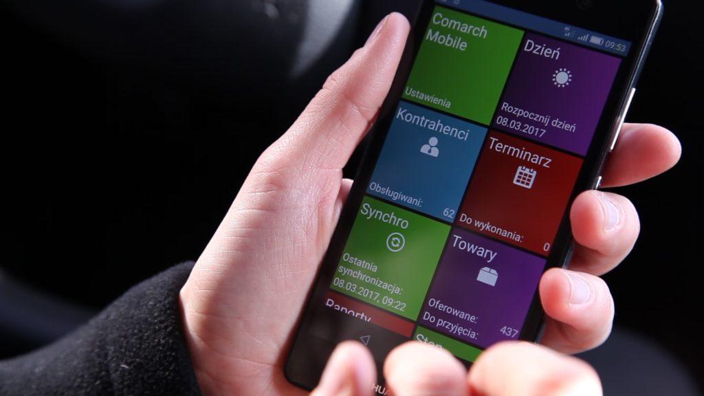 comarch mobile sprzedaż aplikacja
