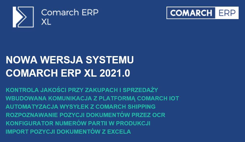 nowa wersja comarch xl